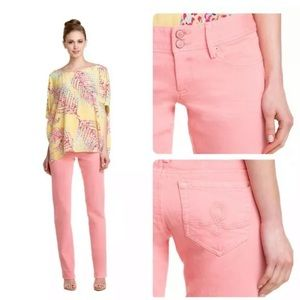 Lilly Pulitzer sherbet worth straight jeans size 0